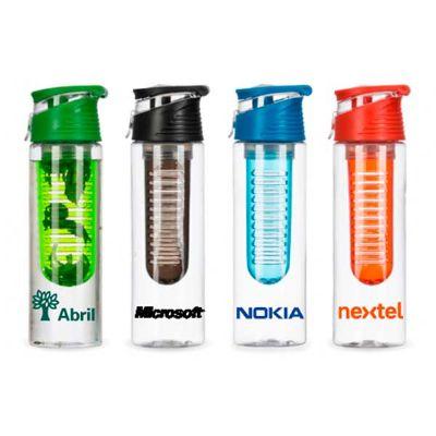 Squeeze plástico 700ml com infusor - Spaceluz Brindes
