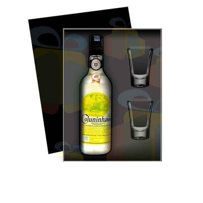 """Kit CACHAÇA com 2 copos tipo """"Shot"""""""
