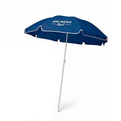 - Guarda-sol em poliéster personalizada Iandê com bolsa também Personalizável. Fornecido em 5 cores. GSL001  Diâmetro: 1400mm | 1600mm Bolsa: 1000 x 120...