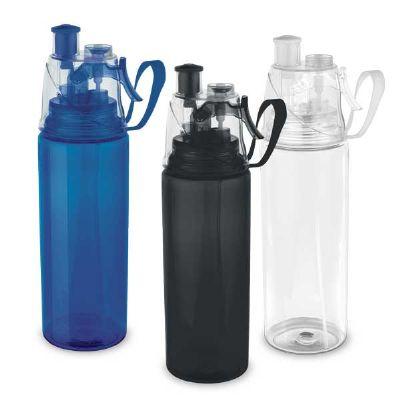 inmark-brindes - Squeeze plástico com borrifador