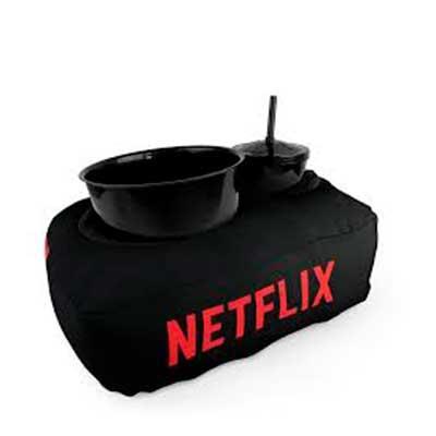 Almofada de pipoca com copo e balde Almofada de pipoca feita em microfibra Diversas cores e perso...