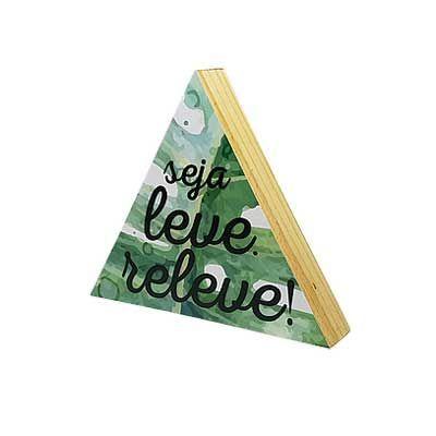 Apt Decor - Quadrinho Triangular