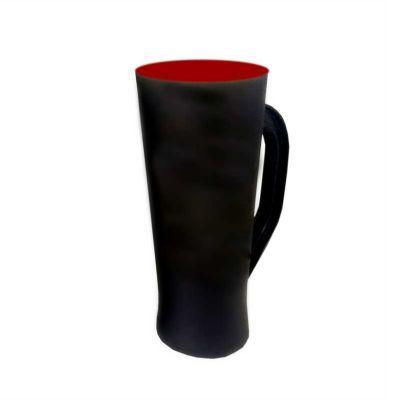 Multimídia News - Taça preto fosco fundo vermelho