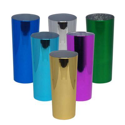 multimidia-news - Copo Long Drink 330ml Metalizado Material: PS Acrílico  Nossos copos Long Drinks são feitos apenas com produtos de excelente qualidade, e passam por u...