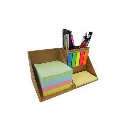 Customiza Brindes - Bloco de anotações com sticky notes coloridos. sticky notes amarelo com aproximadamente 40 páginas. sticky notes marcadores de páginas com aproximadam...