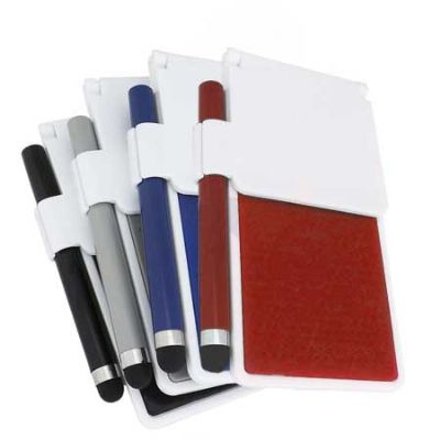 Customiza Brindes - Base para Celular mais Caneta Para Tablet Medidas da Base: 6cm x 11.8 cm Peso da Base: 42 gramas Medidas da Caneta (C x C) 9cm x 3cm Peso da Caneta: 3...