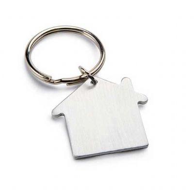 customiza-brindes - Chaveiro casa personalizado -  Alumínio