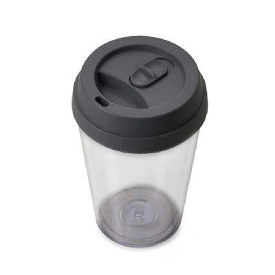 customiza-brindes - Copo Plástico 280ml com Tampa