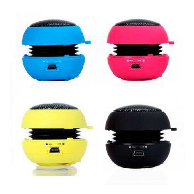RB Brindes - Caixa de som portátil personalizada
