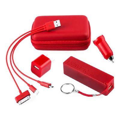 RB Brindes - Kit Carregador Veicular portatil Power Bank, personalizado, temos a uma grande variedade em brindes para sua empresa. Diversos modelos de carregadores...