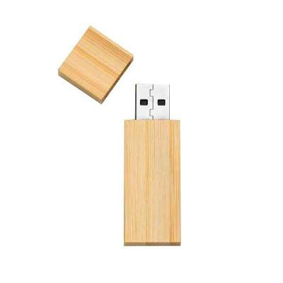 Pendrive Bambu - Totus Brindes