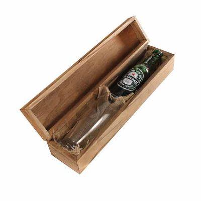 Kit Cerveja com cerveja Heineken, copo e caixa - Eco Design