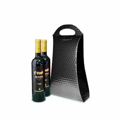Fabrica do Tapasol - Bolsa para 2 Garrafas de Vinho