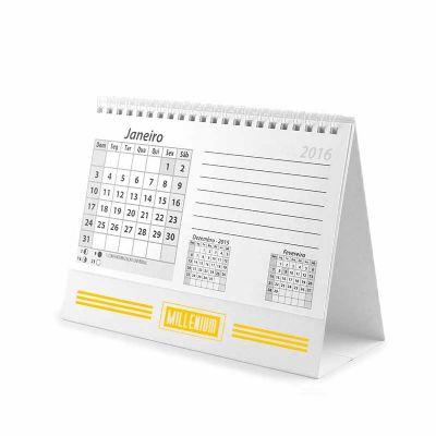 Calendário de mesa - Printi