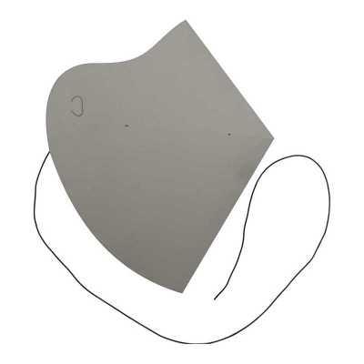 Máscara de proteção de papel