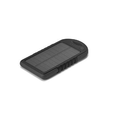 Amoriello Brindes Promocionais - Bateria solar portátil personalizada.