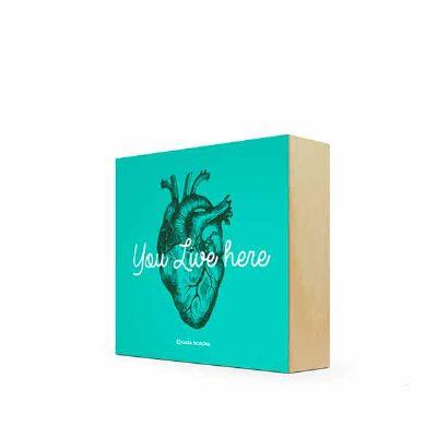 caixa-filosofal - Quadro Bloco 12 x 12