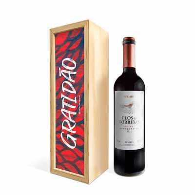 Caixa de Vinho - Caixa Filosofal