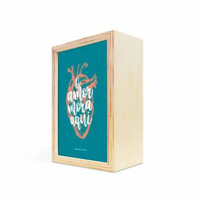 caixa-filosofal - Uma caixa estilo estojo feita de compensado naval com acabamento incrível. Fazemos ela 100% personalizada.