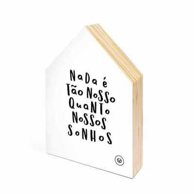 Quadrinho casinha - Caixa Filosofal