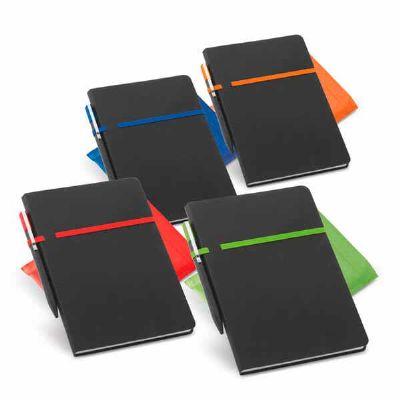 WP Brindes Personalizados - Caderno Couro Sintético