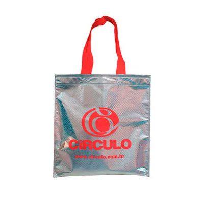 Super Bag Artigos Promocionais - Sacola em TNT Metalizado