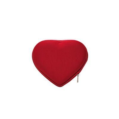 Super Bag Artigos Promocionais - Necessaire coração E.V.A termo moldado