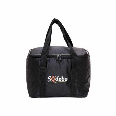 super-bag-artigos-promocioanais - Bolsa térmica em nylon 70 com alça
