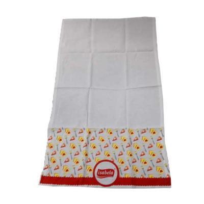 Pano de prato personalizado e confeccionado em tecido 100% algodão