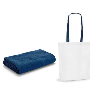 - Toalha de praia. Microfibra: 250 g/m². Fornecida com sacola em non-woven (80 g/m²). 1500 x 750 mm | Sacola: 330 x 415 x 100 mm
