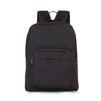 - Material: Nylon Oxford Preto (externo), Nylon 210 Resinado Preto (interno) Descrição: 1 compartilhamento, com porta notebook; 1bolso frontal com zíper...