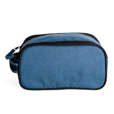 smart-promocional - Alça de mão com tecido rebatido, zíper duplo com puxador e fechamento em velcro, forro interno em resinado, divisória interna em tela, acabamento exte...