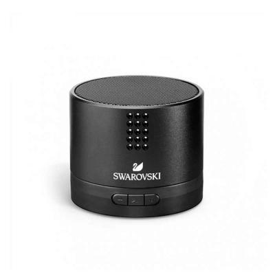 Transmissão por bluetooth.  Com 15 cristais Swarovski. Alumínio e ABS.  059 x 50 mm - Smart Promocional