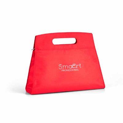 Smart Promocional - Bolsa de cosméticos. Microfibra. Com bolsos interiores. 270 x 210 x 60 mm