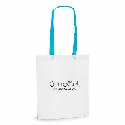 smart-promocional - Sacola com alça azul
