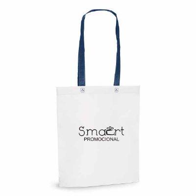 Smart Promocional - Sacola com alça azul