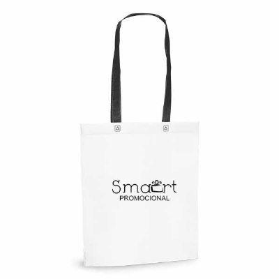 Smart Promocional - Sacola com alça azul de TNT