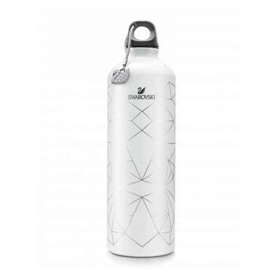 Smart Promocional - Com padrão impresso e cisne decorativo com cristais Swarovski.   Capacidade: 400 ml. 073 x 255 mm