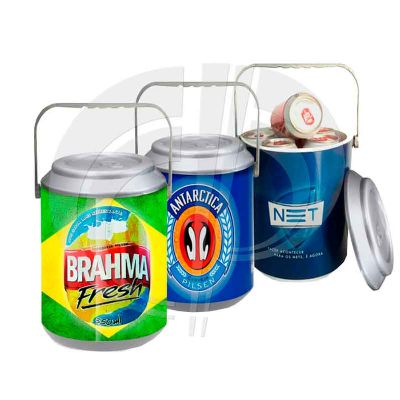 color-plus-brindes - Cooler térmico para 10 latas