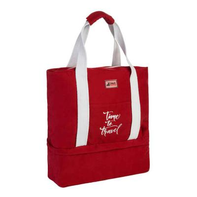 black-bunny-online - Bolsa Weekend em Sarja com 02 compartimentos, bolso externo para carteira, chaves e acessórios. Divisórias internas para calçados e meias. Diversas op...