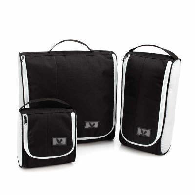 Black Bunny - Kit Organizadores de Mala/Viagem com 03 Bolsas