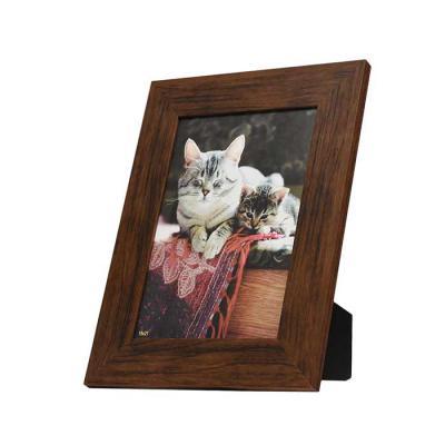 Decorex - Porta Retrato Para Foto (15x21) - Modelo Imbuia - PRC1521-IM  Material: Moldura Pinus, Vidro e Fundo de Plástico (Removível)   Pode ser usado pendurad...