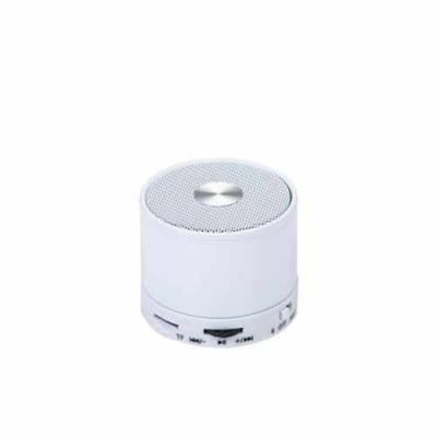 Blimp Brindes - Caixa de som multimídia com Bluetooth e rádio FM. Material plástico resistente. Possui: botão Off/On; O botão de rotação tem algumas funções: >|| ao s...