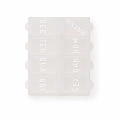 XP Brindes - Porta Comprimidos Semanal