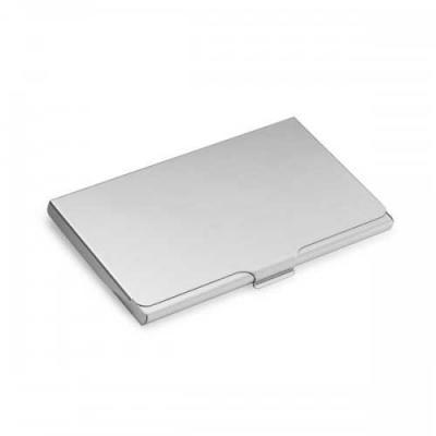 blimp-brindes - Porta cartões de Alumínio.