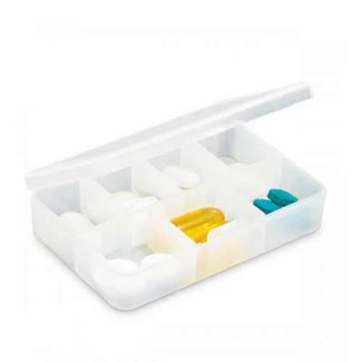 blimp-brindes - Porta comprimidos com 7 divisórias. Food grade.