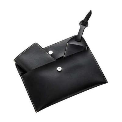 blimp-brindes - Kit viagem 3 peças Bidins em couro sintético, possui porta passaporte com três divisórias para cartões; identificador de bagagem com fivela ajustável...