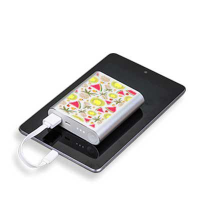 Matecki - Nunca mais fique sem bateria com o Power Bank metálico de 6000mAh com indicador led de bateria. Ótimo para levar em viagens ou passeios para poder car...