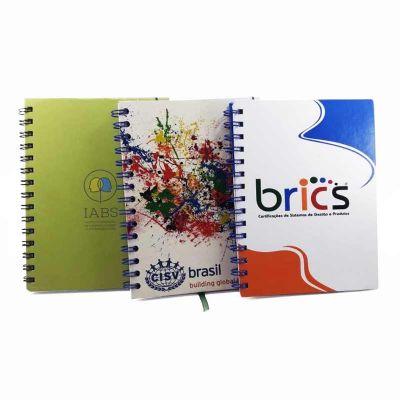 crie-brindes-eco-e-servicos-graficos - Caderno executivo pequeno