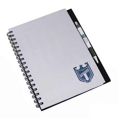 CRIE BRINDES - Caderno com caneta FSC